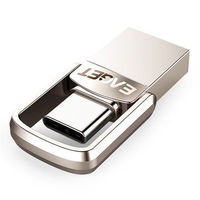 EAGET Metal 32GB Type-c OTG USB 3.1 U Disk Pendrive Flash Drive for Xiaomi Mobile Phone Tablet PC