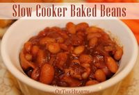 Once you have tasted the tangy but sweet flavor of these easy-to-prepare Slow Cooker Baked Beans, you'll never go back to canned varieties.
