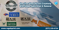 Use Clear Vinyl Stickers Creatively With Simple Application
