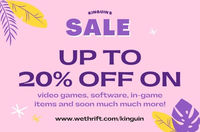 Kinguin is the world's best online marketplace - selling video games, software, in-game items and soon much much more! You can save up to 20% if you use  [url=https://www.wethrift.com/kinguin]Kinguin promo code[/url]. The average shopper saves...