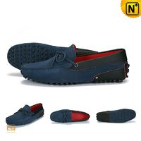 Suede Leather Loafers for Men CW740041
