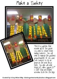 A FREE Turkey Pattern With Writing Ideas. Great activity to do with all ages before the holiday!