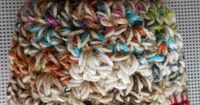 "Suzies Stuff: ""GOT SCRAPS CAP""-Free crochet pattern-N hook 2 strands worsted weight yarn-(FILED)"