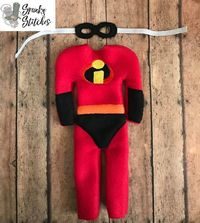 Elf Incredibles Costume