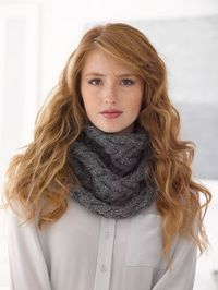 This easy but intricate-looking cowl is great for those who want to try cabling for the first time. Check out the knit pattern on Lion Brand's Patternfinder.