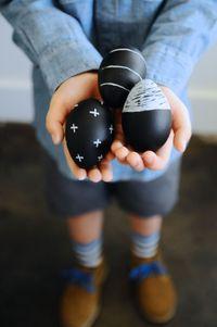 Chalkboard Easter Egg DIY