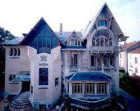 "In 1898, Louis Majorelle entrusted the architect Henri Sauvage (1873-1932) with elaborate plans for his private home in Nancy. The Villa Majorelle '�'�"" or Villa Jika, after the French pronunciation of Majorelle's wife Jeanne ..."