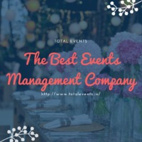 Are you worried about planning a big event? Or plan a party, not getting good ideas or themes let someone else handle this part of your event contact Total Events now! We are the best events management company in Pune, with numbers of satisfied clients.