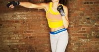 A do-anywhere boxing routine with high-intensity moves that sculpt muscles