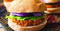 I love a good bean burger, but sweet potato burgers are in a category of their own! These smoky-sweet but spicy burgers will dazzle anyone they're served to, so if your friends tend to snub bean burgers and other meat... Read more