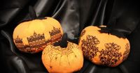 Tutorials | Urban Threads: Elegant embroidered fabric pumpkins!