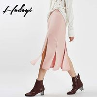 2017 new skirts for fall/winter knit skirt high waist Tutu skirt skirt at the end of a word female - Bonny YZOZO Boutique Store