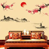 wall stickers home decor Home Decor Mural Decal wall decals vinilos paredes wall stickers for living room bedroom etc $8.26