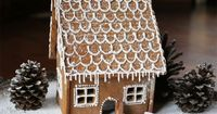 When my sister, Karen, asked us to partake in making a Gingerbread House as part of her awesome food blog, Globetrotter Diaires, we were stoked. A festive and e