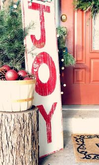 christmas diy, front porches and porches.