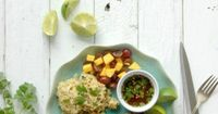 Bring the tast of Thai to the grill with this recipe for Grilled Thai-style Chicken Thighs with Sweet-Spicy Dipping Sauce and Coconut Rice (gluten-free). Outdoo