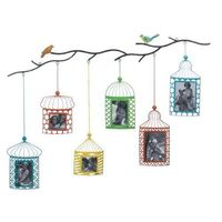 Birdcage Photo Frame Decor @The Lavender Lilac