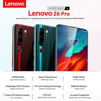 Lenovo Z6 Pro Global Version 6.39 inch 48MP Quad Rear Cameras 8GB 128GB Snapdragon 855 Octa Core 4G Smartphone
