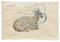 Kiki Smith. �€œEverywhere (Sitting Fawn),�€ 2010. Courtesy of the artist and the Barbara Gross Galerie.