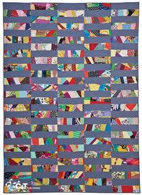"""15 Minutes of Play�€""""Improvisational Quilts by C Publishing, via Flickr"""