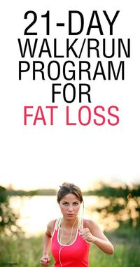 awesome 21-Day Run/Walk Program for Fat Loss