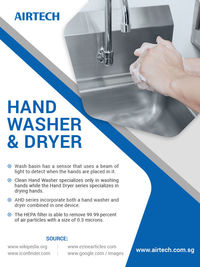 Hospital Hand Washer And Dryer Supplier