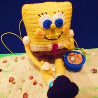 Connie's Spot© Crocheting, Crafting, Creating!: Free SpongeBob Inspired Pattern©
