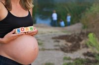 #Maternity photos with kids.