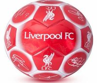 Liverpool F.C. Team Signature Football Liverpool Size 5 - synthetic football- size 5- 32 panel- official licensed product (Barcode EAN = 5037970018723). http://www.comparestoreprices.co.uk/football-equipment/liverpool-f-c-team-signature-football-l...