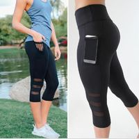 Stylish jogging tights with a handy mesh hip pocket for your smartphone so you can keep those tunes pumping