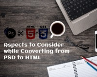 Aspects to Consider While Converting from PSD to HTML
