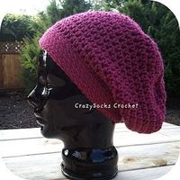 slouch hat crochet pattern