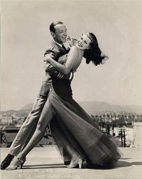 Fred Astaire and Rita Hayworth. 1941