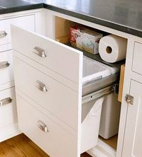 Every room in the house could use a little extra storage. Install these storage-packed shelves, drawers, and cabinets to make the most of your kitchen storage.