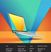 Global Version ASUS Y406UA8250 14.0-inch i5-8250U 8G+256GB comprehensive screen ultra-thin this business office student entertainment quad-core gaming laptop solid state IPS screen