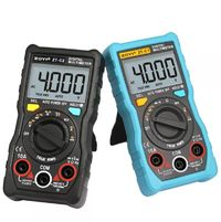 ZT-C1/C2/C3/C4 Digital Multimeter Auto Ranging 4000 Counts TRMS AC/DC Ammeter Voltmeter Ohm Tester LCD Backlight