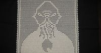 filet crochet ood doily by meredee, via Flickr Look Mel! There's a Dalek and K9 too.