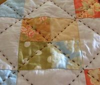 Hand Quilting-- I love to hand quilt and was impressed with these beautiful stitches