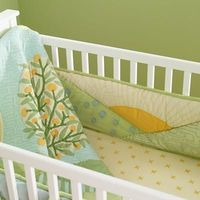 gender-neutral bedding, theme for nursery (minus crib bumpers :))