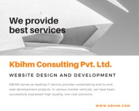 Best Web Development Company in India | Kbihm Consulting pvt. Ltd