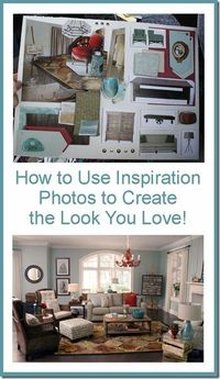 Using Inspiration Photos to Create Your Home's Best Look remodelaholic.com #home #interior design