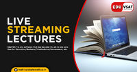 EduVSAT offering live streaming lectures which gives the best high quality audio and video during real time classes through the devices. You get definitely endless possibilities with our live streaming lectures device. Know more call: +91-885-128-6001 or ...