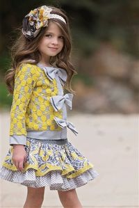 Persnickety Clothing - October Sky Edith Jacket in Yellow