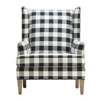 Sit up and take notice of the Parker, a go-anywhere chair with considerable appeal--just look at that bold silhouette! We've freshened up the classic wing chair with a generous, loose seat cushion and tapered legs. It's available in fabric, dual-f...