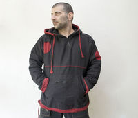 """Mens Winter Twill Cotton Pullover ( M size) �€"""" Jacket with fleece lining $65.00"""