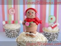 Fondant Gingerbread Girl Tutorial