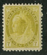 A Fresh Mint Example of a Queen Victoria Stamp From Canada Issued in 1902