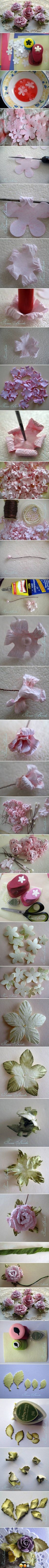 paper flower tutorial, paper roses and paper flowers.