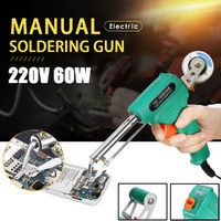 220V 60W Electric Soldering Gun Machine Welding Tool Manual Solder Iron Gun