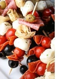 Just imagine. All you do is put together a platter of store-bought ingredients and present it to your guests. That's mostly what antipasti entails. The s...